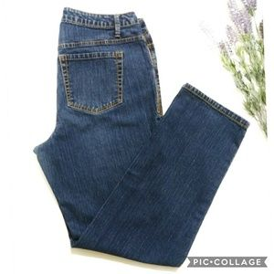 Avenue Straight Leg Jeans Size 14